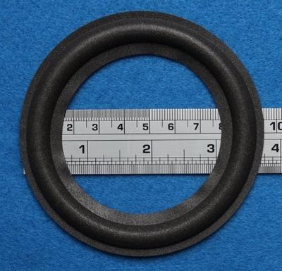Foamrand van 4 inch, voor een conusmaat van 7,2 cm (F4C7)