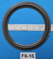 Foamrand van 8 inch, voor een conusmaat van 16 cm (F8-16)