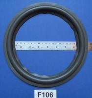 Foamrand van 10 inch, voor een conusmaat van 19 cm (F106)