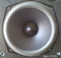 Foam ring (5 inch) for Acoustic Energy AE100 woofer
