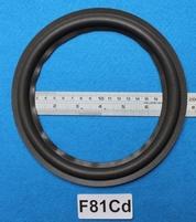 Foamrand van 8 inch, voor een conusmaat van 15,5 cm (F81Cd)
