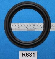 """Rubber rand van 6,3"""", voor een conusmaat van 11,9 cm (R631)"""