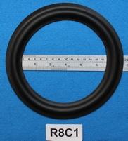 Rubber rand van 8 inch, voor een conusmaat van 15 cm (R8C1)