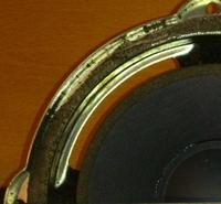 Rubber rand voor B&W ZZ2836  woofer (6 inch)