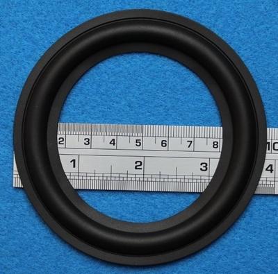 Rubber rand van 4 inch, voor een conusmaat van 7,3 cm (R4C1)