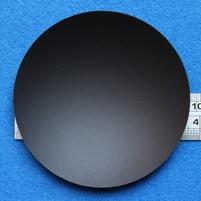 Plastick stofkap van 96 mm voor 'holle' montage