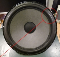 Foam ring (8 inch) for Mirsch OM 2 woofer