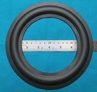 Rubber rand voor B&W DM7 MK1 woofer (8 inch)