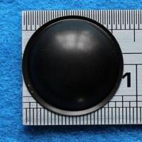 Plastick stofkap van 23 mm