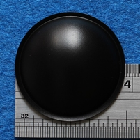 Plastic dust-cap, 38 mm