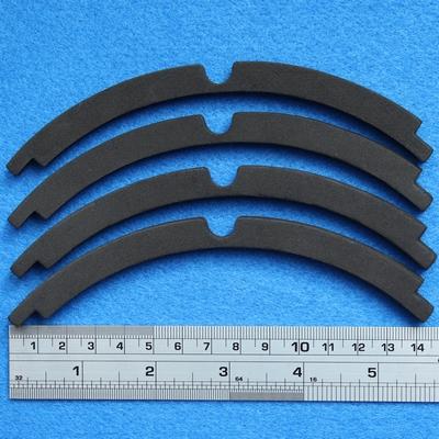 Sierrand voor 8 inch woofer, ring uit 4 stukjes