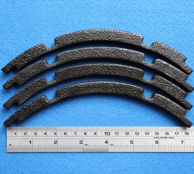 Sierrand voor 10 inch woofer, ring uit 4 segmenten