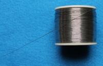 Soldeertin, 30 cm lang, slechts 0,25 mm dik