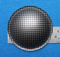 Plastick stofkap van 70 mm
