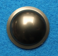 Plastic dust-cap, 26 mm, color: bronze