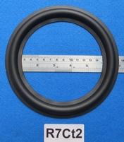 """Rubber rand van 7"""" voor een conusmaat van 13,6 cm (R7Ct2)"""