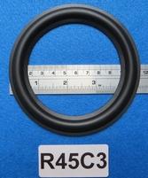 Rubber rand van 4,5 inch, voor een conusmaat van 9 cm