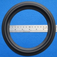 Rubber ring for Philips FB565 woofer