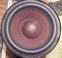Foamrand voor Mirsch OM110 woofer (8,5 inch)