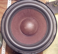 Foam ring (8 inch) for Mirsch OM 3-28 woofer
