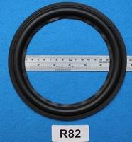 Rubber rand van 8 inch, voor een conusmaat van 14,8 cm (R82)