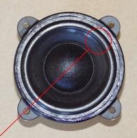 Foam ring (3 inch) for Logitech  Z-10 woofer