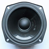 Infinity Reference 2000.1 woofer. Rubber surround flattened.