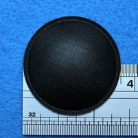 Dust cap, made of fabric, 35 mm