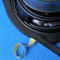 Foam tape to make speaker units airtight