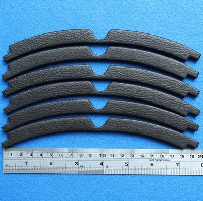 Sierrand voor 15 inch woofer, ring uit 6 segmenten