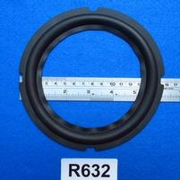 """Rubber rand van 6,25"""", voor een conusmaat van 11,9 cm (R632)"""