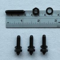 Set metalen spikes (4 stuks) van Dali - voor compacte luidsp