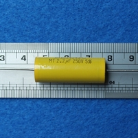 Capacitor, 250 Volt - 2.2 µF - 5%