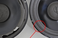 Foamrand (10 inch) voor Infinity SM112 woofer