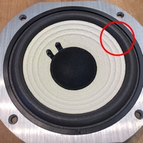Foam ring for JBL 115H1 woofer