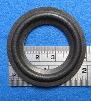 Foam ring, 2 inch, for a unit with a cone size of 3,5 cm