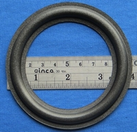 Foam ring, 4 inch, for a unit with a cone size of 7,45 cm