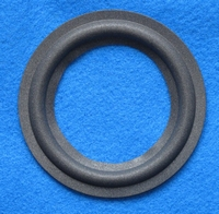 Foam ring, 4 inch, for a unit with a cone size of 6,7 cm