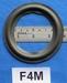 Schaumstoff Sicke - 4 Zoll - für 7,1 Zm. Membran (F4M)