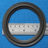Foam ring, 4 inch, for a unit with a cone size of 7,7 cm