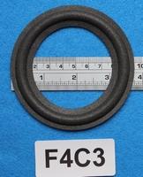 Foamrand van 4 inch, voor een conusmaat van 7 cm (F4C3)