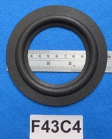 Foam ring, 4,25 inch, for a unit with a cone size of 7,7 cm