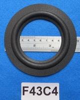 Schaumstoff Sicke (4,25 Zoll) für 7,7 Zm Kegel / Membran