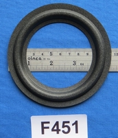 Foam ring, 4,5 inch, for a unit with a cone size of 8,2 cm