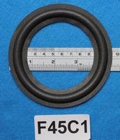 Foamrand van 4,5  inch, voor een conusmaat van 8,5 cm (F45C1