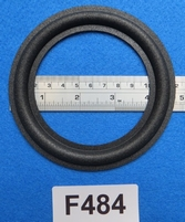 Foam ring, 4,75 inch, for a unit with a cone size of 9,1 cm