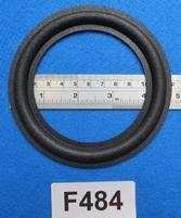 Foamrand van 4,75  inch, voor een conusmaat van 9,1 cm (F484
