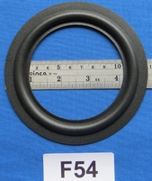 Foam ring, 5 inch, for a unit with a cone size of 9 / 9,1 cm