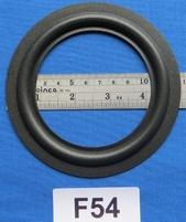 Foamrand van 5  inch, voor een conusmaat van 9,05 cm (F54)