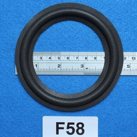 Foam ring, 5 inch, for a unit with a cone size of 9,1 cm